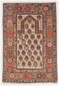Antique Shirvan Prayer Rug, Caucasus