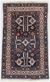 Antique Kuba Rug, Caucasus: 4'2'' x 6'11''