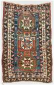 Antique Kazak Rug, Caucasus: 3'1'' x 4'10''
