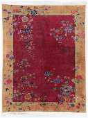 Art Deco Rug, Early 20th C, China: 8'11'' x 11'5''