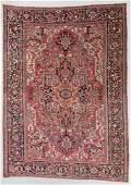 Fine Mansion Size Antique Heriz Rug, Persia: 13'2'' x