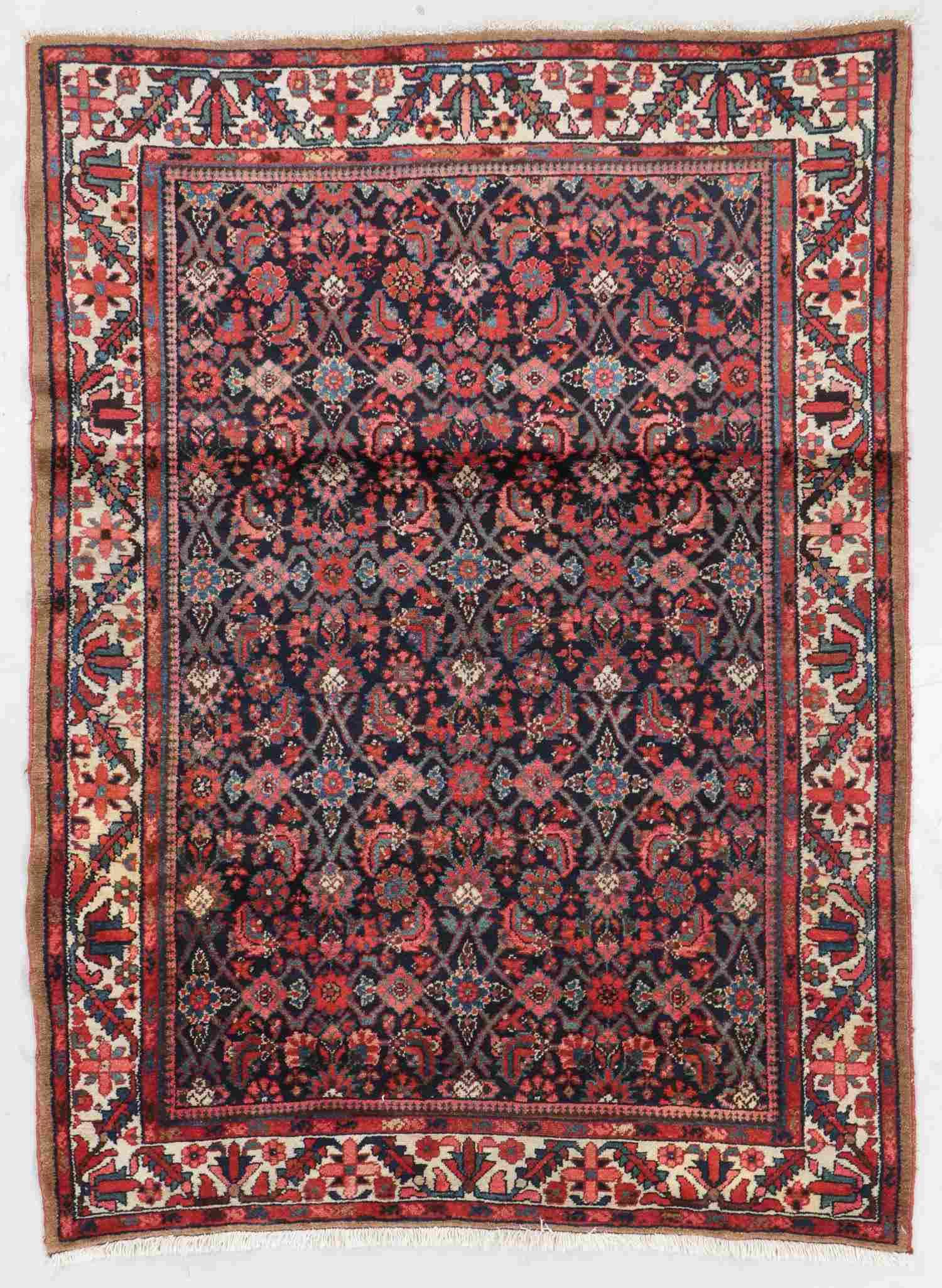 Semi-Antique Malayer Rug, Persia: 4'10'' x 6'6''