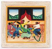 Wilmino Domond (Haitian, b. 1925) Painting