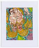 "Rex Clawson (1929-2007) ""Romance on the High Seas"""