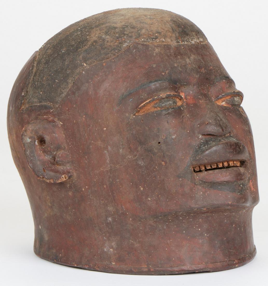 "Helmet Mask, ""lipiko"", Makonde People, Tanzania or"
