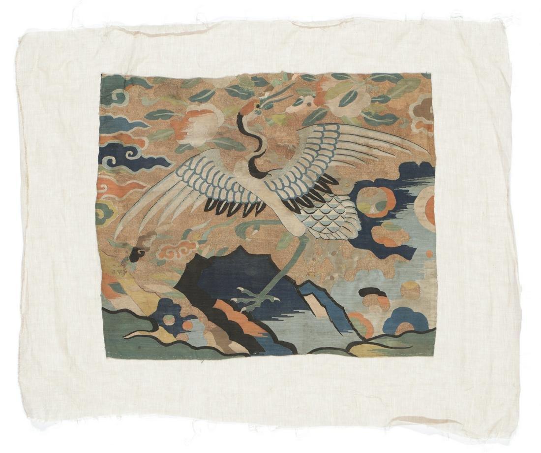 Chinese Ming Era Kesi Textile