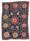 Antique Central Asian Suzani Uzbekistan