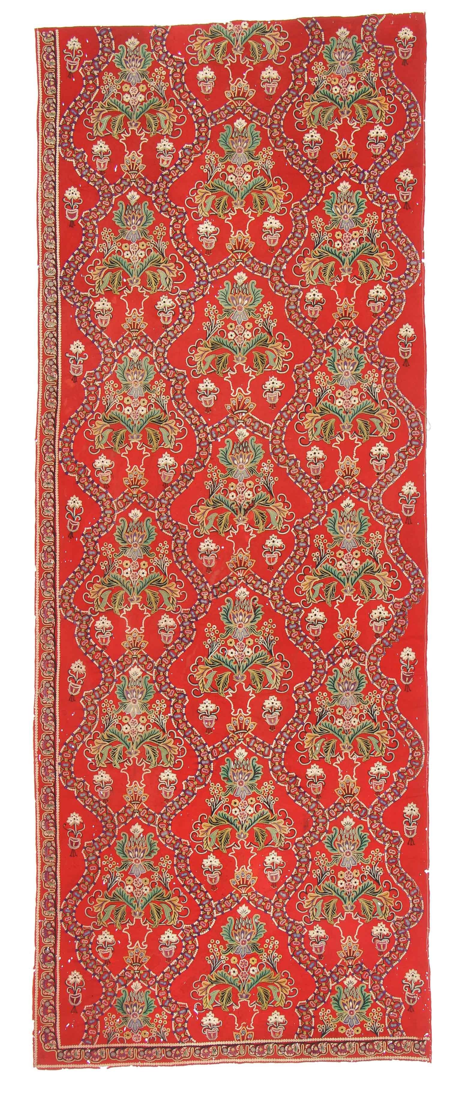19th C Resht Embroidery, Persia