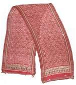 Antique Indian Patola Silk Ikat Textile