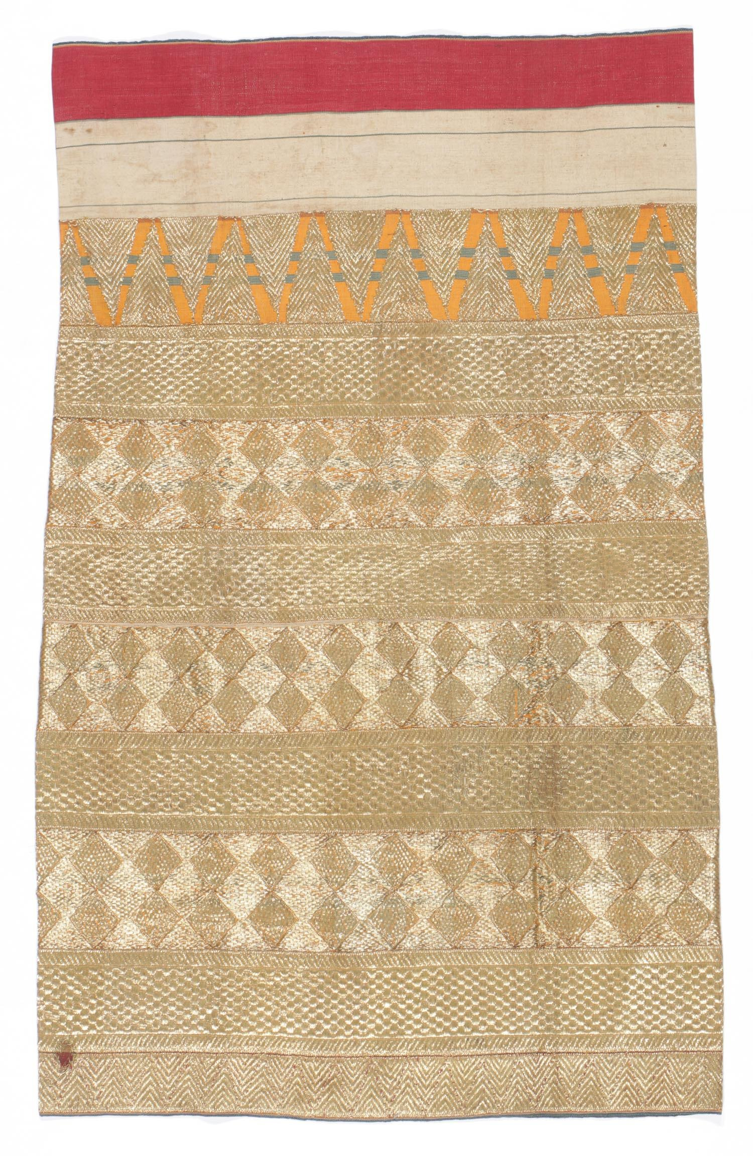Antique Indonesian Ceremonial Tapis Textile