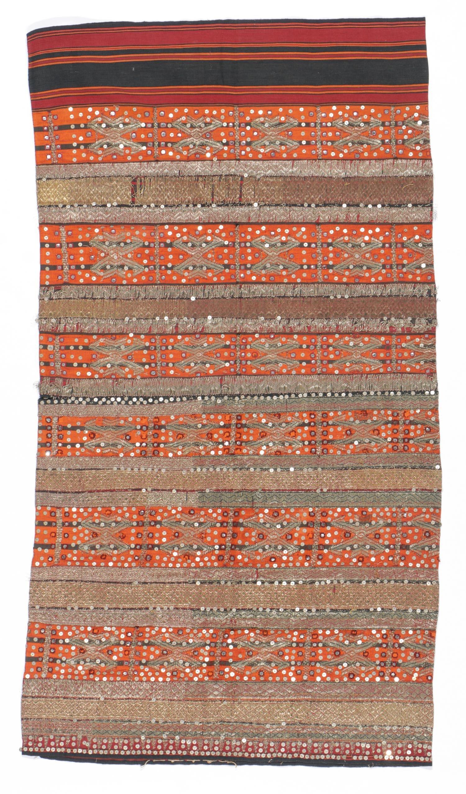 Antique Indonesian Ceremonial Tapis Textile