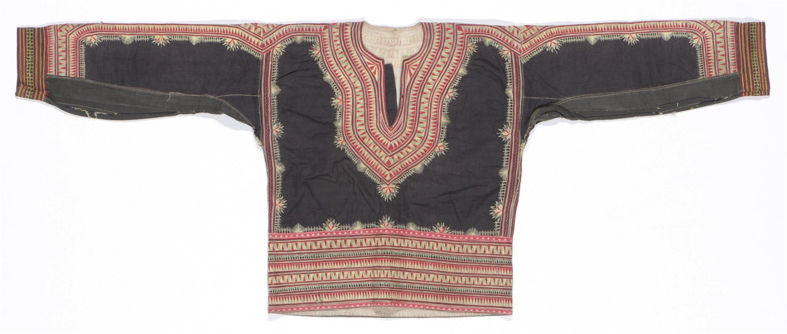 Indonesian Woman's Embroidered Top Textile