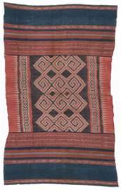 Fine Antique Toraja Ikat Ceremonial Textile