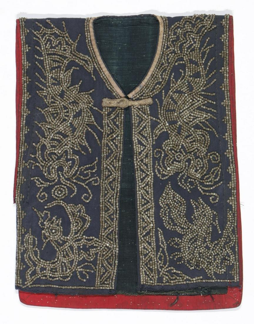 Rare Antique Ceremonial Jacket, Hani (Akha) People