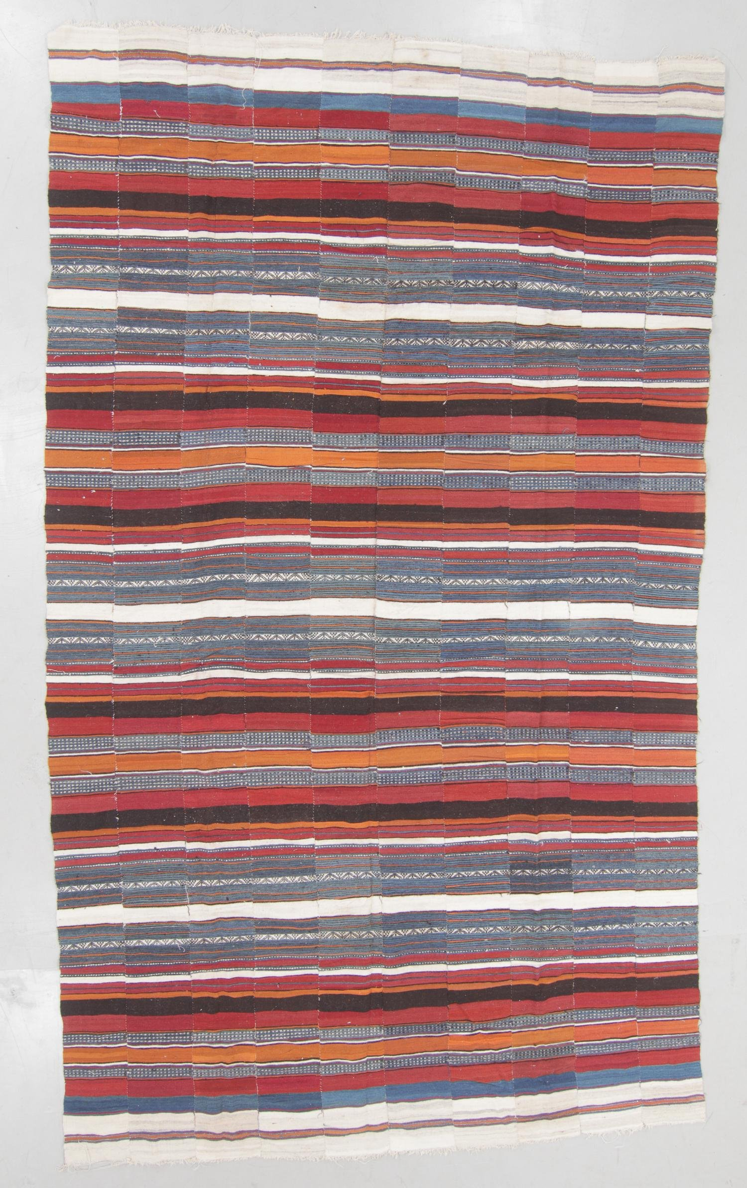 Large West African Flatweave: 8'6'' x 14'8''