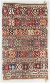 Antique Shirvan Kilim, Caucasus: 5'6'' x 9'1''