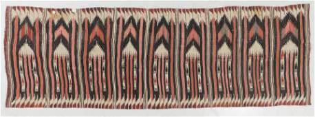 Antique Central Anatolian Kilim, Turkey: 3'5'' x 10'2''