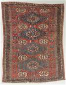 Antique Sumak Rug, Caucasus: 7'3'' x 9'11''