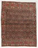 Fine Antique Bidjar Rug, Persia: 4' x 5'