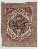 Antique Khamseh Rug, Persia: 5'2'' x 6'4''