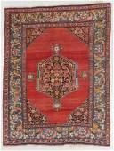 Antique Bidjar Rug, Persia: 4'6'' x 5'10''