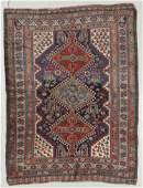 Antique Gashgai Rug, Persia: 4'5'' x 5'9''