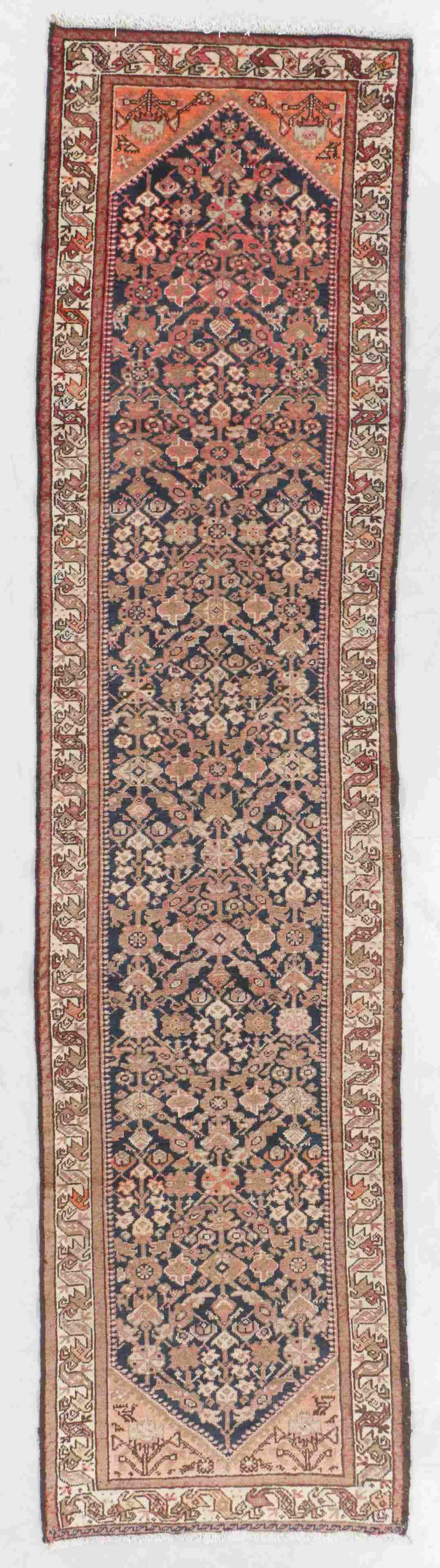 Semi-Antique Malayer Rug, Persia: 3'2'' x 12'11''