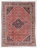 Antique Mahal Rug, Persia: 10'1'' x 13'2''