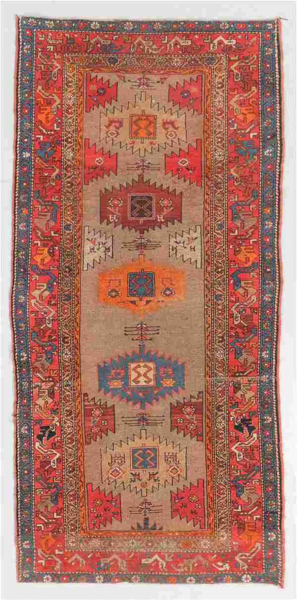 Antique West Persian Kurd Rug, Persia: 3'3'' x 6'7''