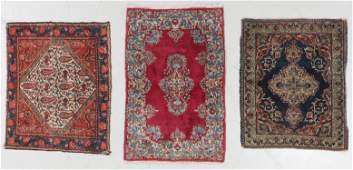 3 Old Persian Small Rugs