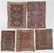 Estate Grouping of Antique Caucasian Rugs 5