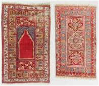 2 Antique Turkish Rugs