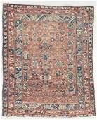 Antique West Persian Kurd Rug, Persia: 4'2'' x 5'2''