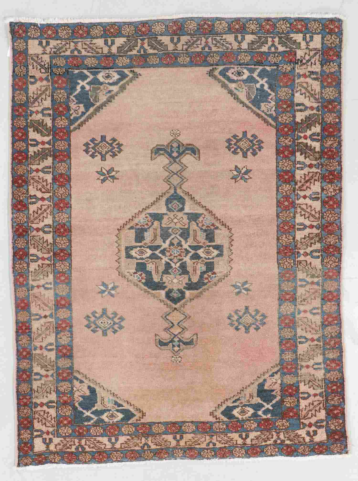 Antique Malayer Rug, Persia: 3'9'' x 4'11''