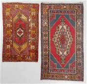 2 Semi-Antique Turkish Rugs