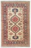 Vintage Caucasian Style Rug Afghanistan 41 x 65