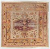 Antique Agra Rug India 1110 x 113