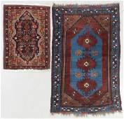 2 Semi-Antique Caucasian and Persian Rugs