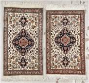 Pair of Vintage IndoPersian Rugs