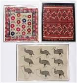 Three Ethnographic Textiles