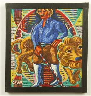 Jack Gerber (American, b. 1927) Oil Painting