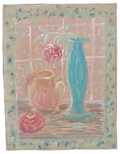 Sybil Gibson (American, 1908-1995) Pastel