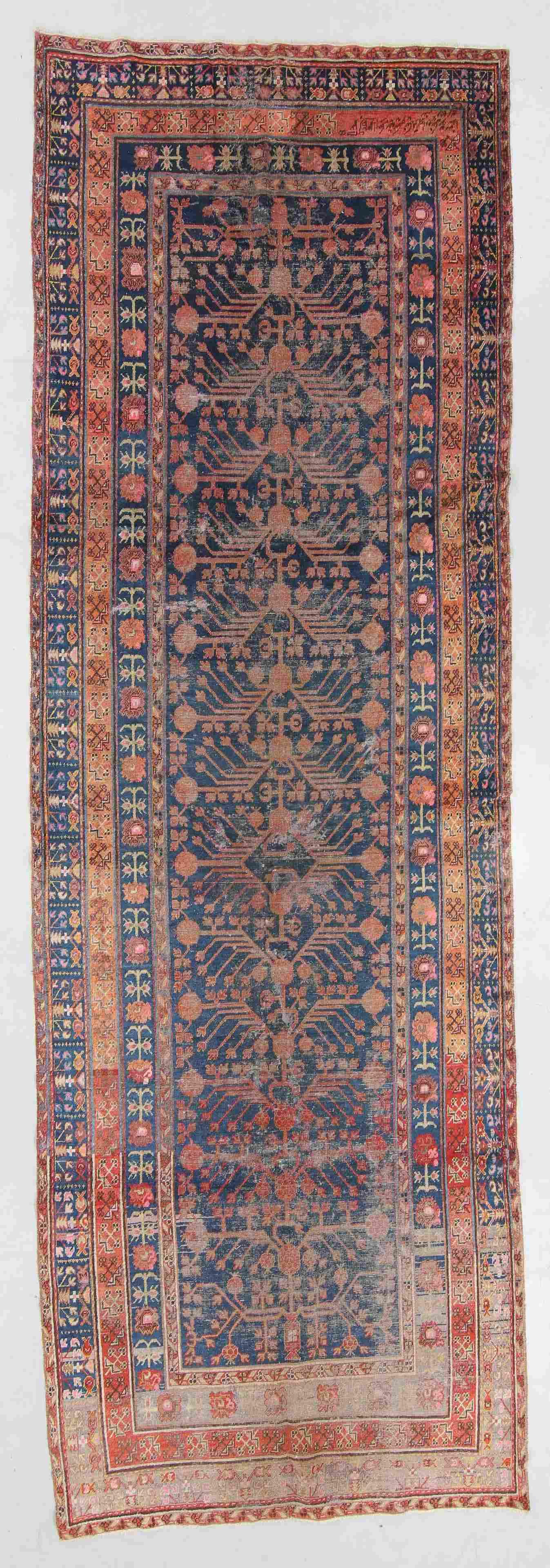 Antique Khotan Rug, China: 5