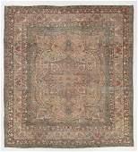 Antique Lavar Kerman Rug Persia 91 x 99