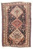 Antique Gashgai Rug, Persia: 3'10'' x 5'6''