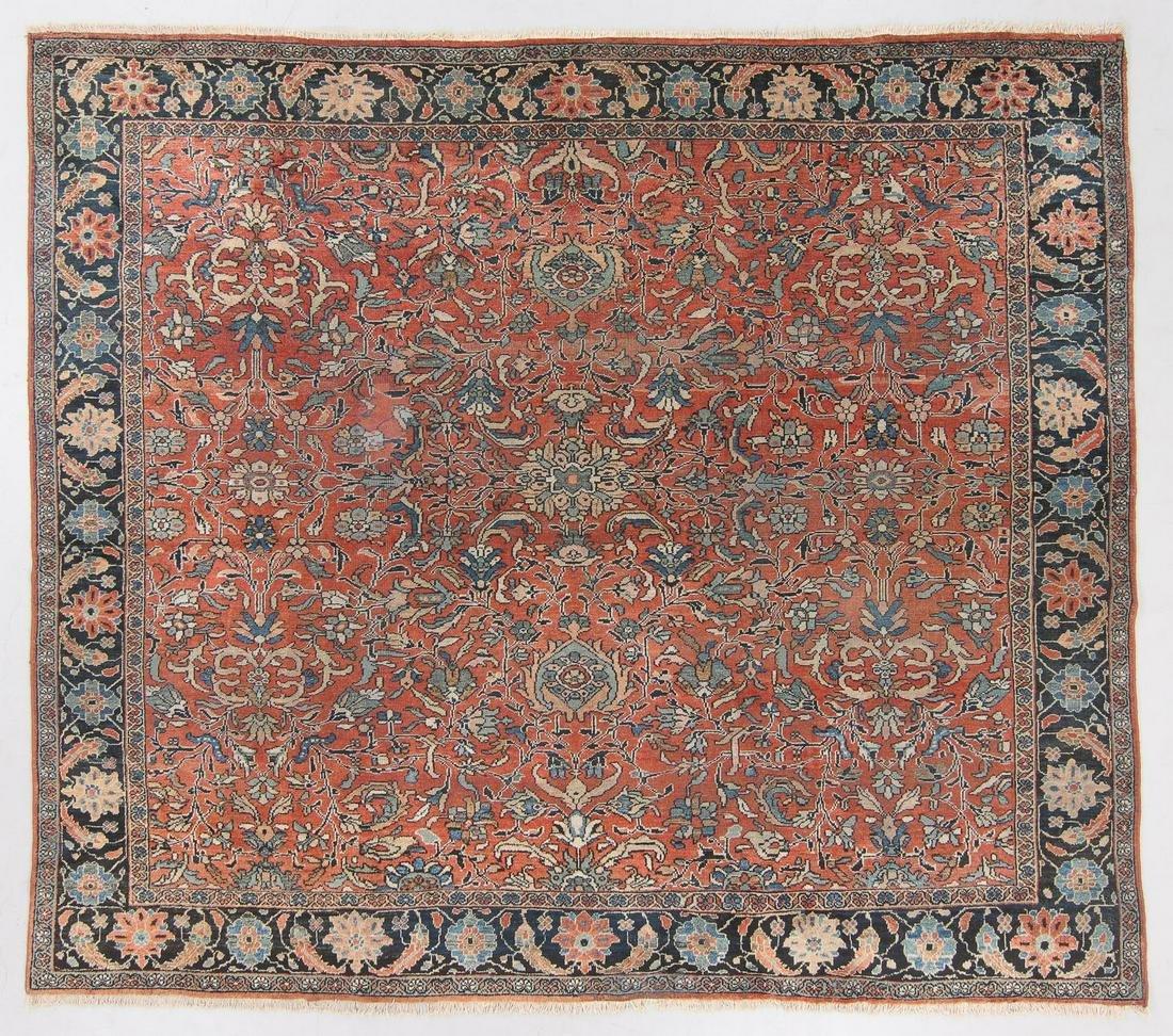 Antique Sultanabad Rug, Persia: 10'3'' x 9'2''