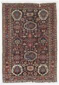 Antique Baktiari Rug, Persia: 4'5'' x 6'6''