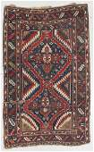 Antique Kazak Rug, Caucasus: 4'8'' x 7'6''