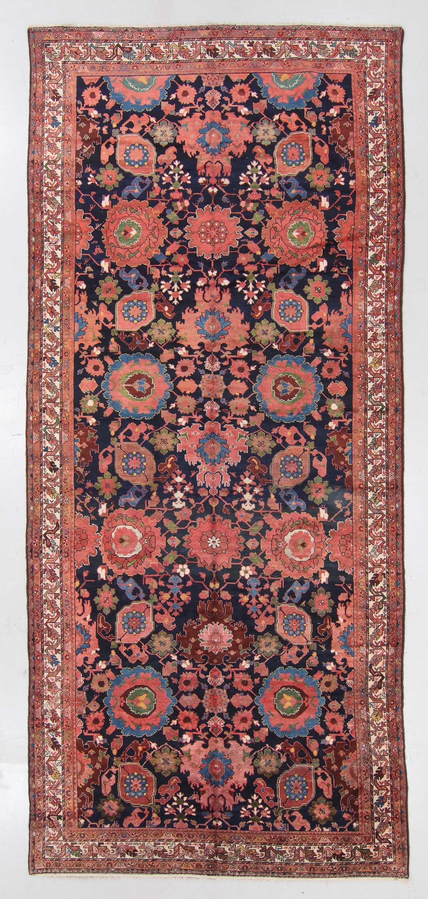 Semi-Antique Malayer Rug, Persia: 7'5'' x 16'4''