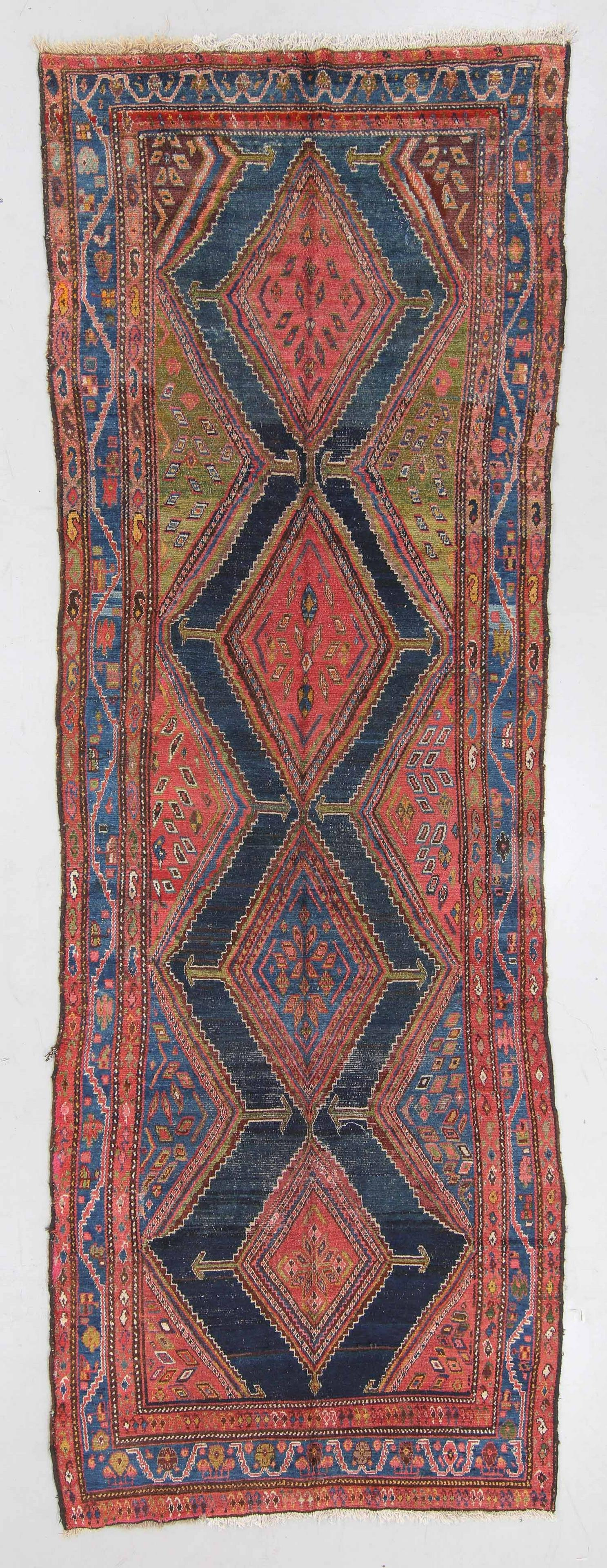 Semi-Antique Hamadan Rug, Persia: 5'3'' x 15'1''